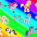Mylittlepony Coloring Beautiful Photos My Little Pony Transforms Gender Swap Mane 6 Everypony
