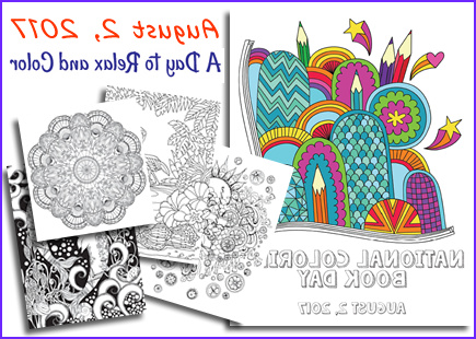 national coloring book day freebies