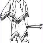 Native American Coloring Cool Images Native American Indian Arrow Girl Coloring Page