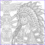 Native American Coloring Luxury Collection Native American Indian Chief 3 Coloring Pages For