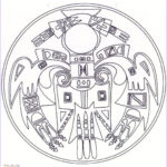 Native American Coloring Pages New Photography Native American Mandala Coloring Page