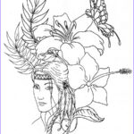 Native American Coloring Sheets Awesome Images Native American Coloring Pages Printable