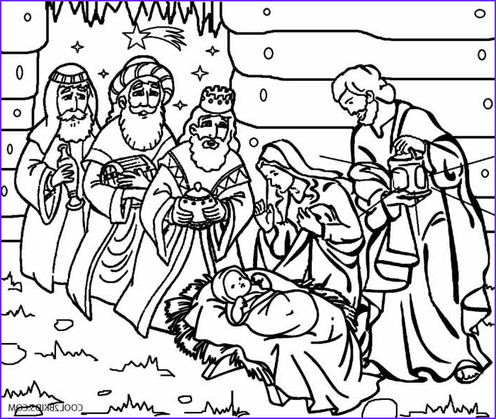 Nativity Coloring Pages for Preschool Best Of Photography Printable Nativity Scene Coloring Pages for Kids