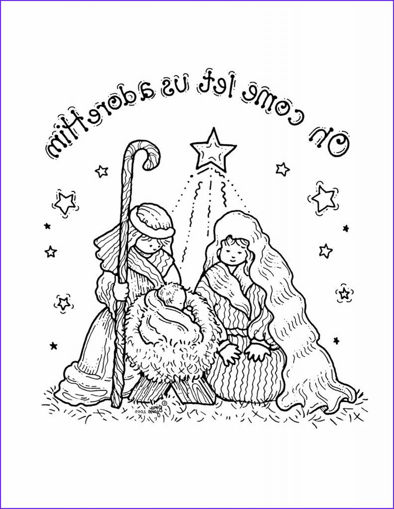 Nativity Coloring Pages for Preschool Best Of Photos Free Printable Nativity Coloring Pages for Kids Best