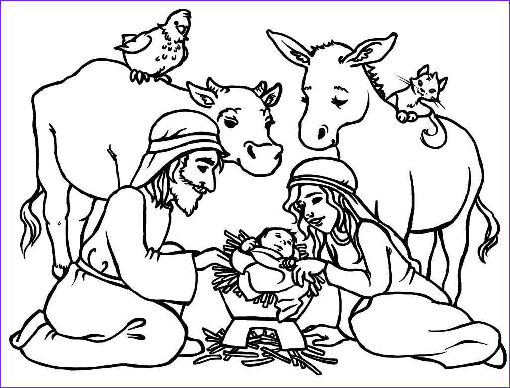 Nativity Coloring Pages for Preschool Inspirational Stock Free Printable Nativity Coloring Pages for Kids Best