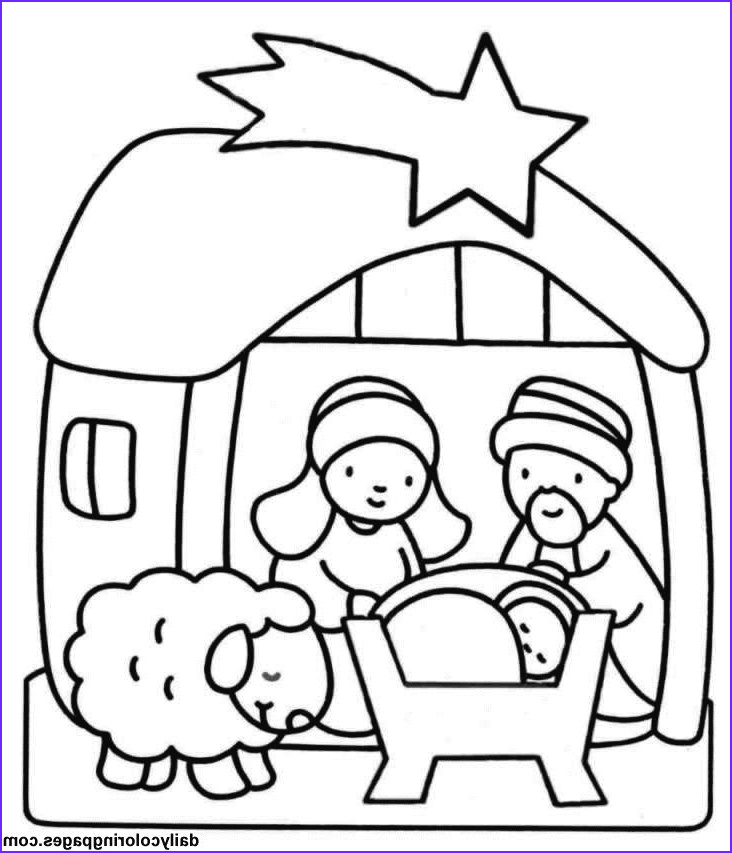 Nativity Coloring Pages for Preschool Luxury Photos Best 25 Christmas Coloring Sheets for Kids Ideas On