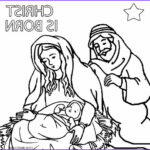 Nativity Coloring Pages Free Printable Beautiful Images Printable Nativity Scene Coloring Pages For Kids