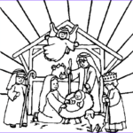 Nativity Coloring Pages Free Printable Beautiful Photos Free Nativity Scene Clipart Clipart Best
