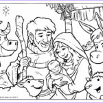 Nativity Coloring Pages Free Printable Beautiful Photos Ian Dale Art & Design