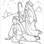 Nativity Coloring Pages Free Printable Beautiful Photos Nativity Shepherds