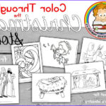 Nativity Coloring Pages Free Printable Cool Photos Nativity Scene Bible Coloring Pages Christian Preschool