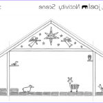 Nativity Coloring Pages Free Printable Inspirational Collection Made By Joel Paper City Nativity Scene Joyfully Expanded