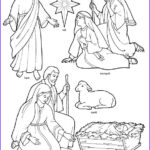 Nativity Coloring Pages Free Printable New Images Happy Clean Living Primary 3 Lesson 47 Christmas