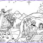 Nativity Coloring Pages Free Printable New Photography Line Christmas Coloring Book Printables