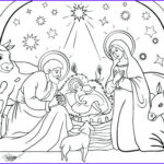 Nativity Coloring Pages Free Printable New Photos Printable Nativity Cut Out Coloring Pages Sketch Coloring Page