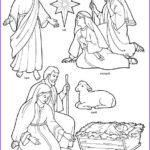 Nativity Coloring Pages Free Printable Unique Gallery Printable Nativity Coloring Page To Cut Out And Make Your