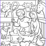 Nativity Coloring Pages Free Printable Unique Photography Free Printable Nativity Coloring Pages For Kids Best