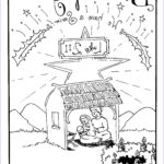 Nativity Coloring Pages Printable Awesome Collection Free Printable Nativity Coloring Pages For Kids Best