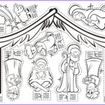 Nativity Coloring Pages Printable Beautiful Collection 18 Nativity Sets To Make Bible Crafts And Activities