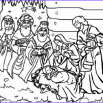Nativity Coloring Pages Printable Beautiful Gallery Printable Nativity Scene Coloring Pages For Kids