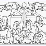 Nativity Coloring Pages Printable Beautiful Stock Serendipity Hollow Nativity Coloring Book Page