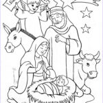 Nativity Coloring Pages Printable Inspirational Gallery Nativity Coloring Page