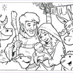 Nativity Coloring Pages Printable Unique Collection Christmas Coloring Page – Wallpapers9