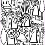 Nativity Coloring Pages Printable Unique Images Print & Pattern Xmas 2010 Lagom Girard
