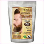 Natural Beard Coloring Inspirational Collection 1 Pack Of Light Brown Henna Beard Dye For Men