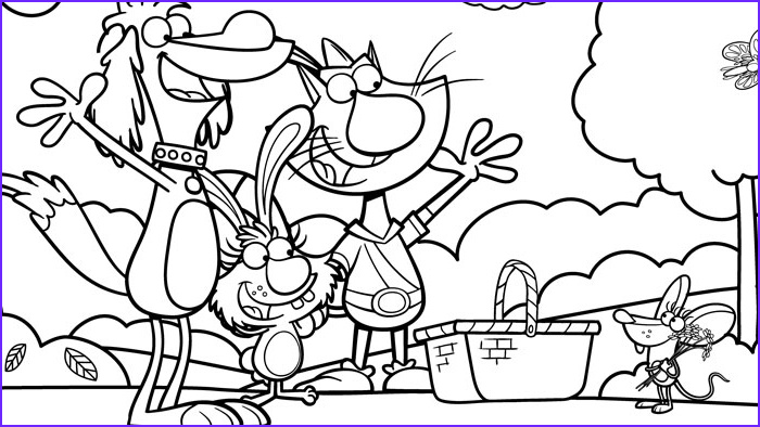 Nature Coloring Book Awesome Collection Nature Cat Coloring Pages