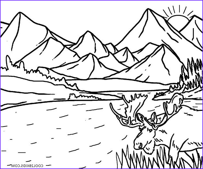 Nature Coloring Book Inspirational Photos Printable Nature Coloring Pages for Kids