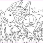 Nature Coloring Book Unique Image Fish In The Lake Of Nature Coloring Page