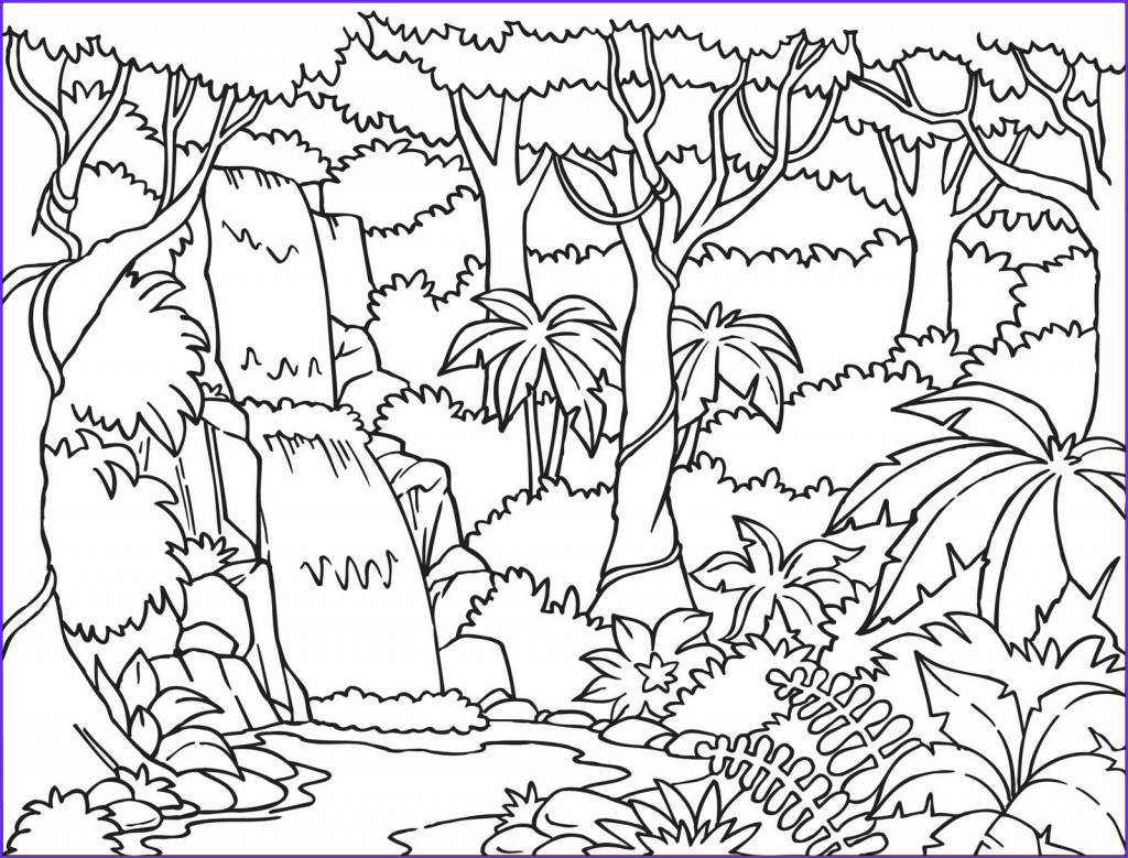 Nature Coloring Book Unique Photos Free Printable Nature Coloring Pages for Kids Best