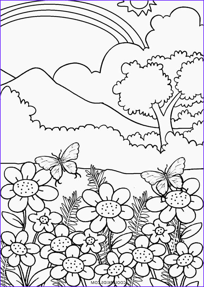 Nature Coloring Book Unique Photos Printable Nature Coloring Pages for Kids