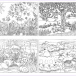 Nature Coloring Pages For Adults Best Of Images Nature Scene Bug Coloring