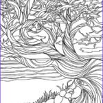 Nature Coloring Pages For Adults Cool Photos Printable Adult Coloring Page Coloring Pages Nature