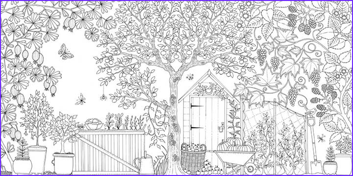 Nature Coloring Pages for Adults Elegant Image with Adult Coloring Books On the Rise Library Hosts