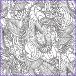 Nature Coloring Pages for Adults Elegant Photos Coloring Pages for Adultsdecorative Hand Drawn Doodle