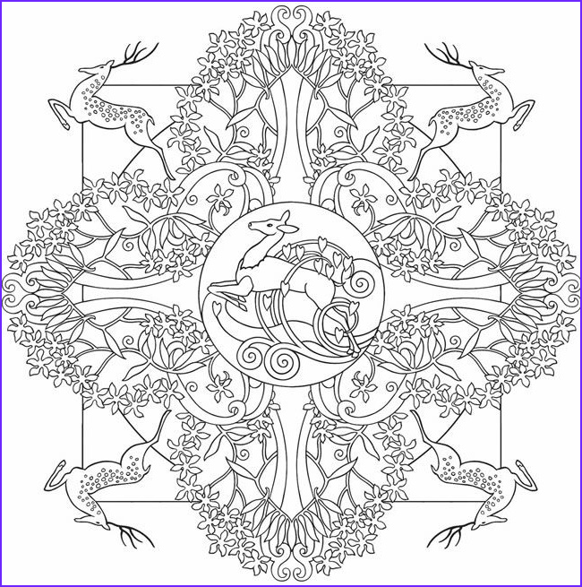Nature Coloring Pages for Adults Inspirational Image Adult Coloring Pages