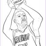 Nba Coloring Book Elegant Collection Kevin Durant Nba Sport Coloring Pages Printable