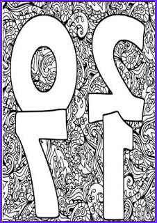 New Coloring Books for Adults Unique Photos New Year 2017 Coloring Pages for Adult