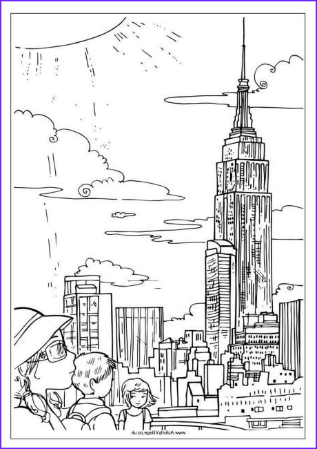 New York Coloring Books Best Of Images Coloring Pages New York City