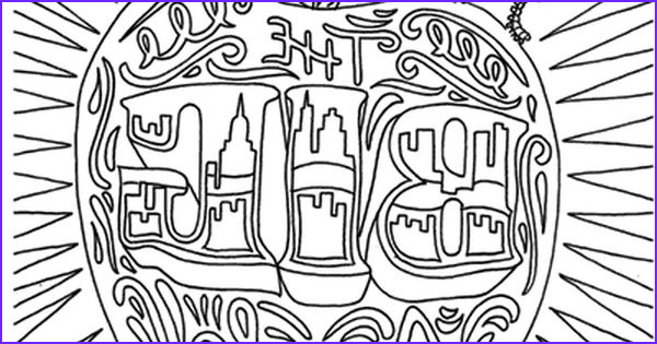 New York Coloring Books Cool Photos the Big Apple Coloring Page From the Coloring Book Color