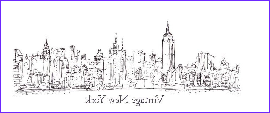 New York Coloring Books Inspirational Gallery Coloring Pages for Adults City Skyline Bing