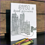 New York Coloring Books Luxury Photos New York City Coloring Book Ready to Ship