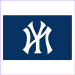 New York Yankees Coloring Cool Image Fanmats New York Yankees 2 Ft X 3 Ft Area Rug 6342 The
