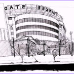 New York Yankees Coloring Inspirational Gallery Yankee Stadium Newyork Coloring Pages