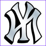 New York Yankees Coloring Luxury Photos Yankees Clipart Clipground