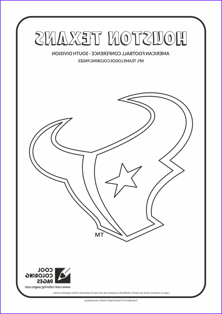 Nfl Football Coloring Pages Inspirational Images Cool Coloring Pages Houston Texans Nfl American Football