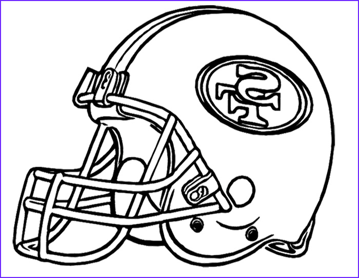 nfl football helmets coloring pages